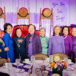 Quý cựu Giáo Sư (Cô Hoa, Cô Tuyết Anh, Cô Mỹ, Cô Minh) và gia đình Gia Long Bắc Cali tham dự ĐHGLTG 2019