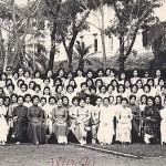 Các vị giáo sư và nhân viên hành chánh trường Nữ Trung Học Gia Long (1961)