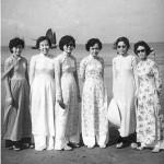 Cô Thu Cúc, Cô Tỵ, Cô Thu Ba, Cô Huệ, Cô Thiệt, Cô Nguyễn thị Nhung (Vũng Tàu, 1958)