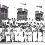 Các vị giáo sư và nhân viên hành chánh trường Nữ Trung Học Gia Long
