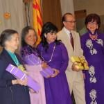 Tặng quà Thầy Cô - GS Mỹ, GS Bạch Hạc, GL Kim Phượng, GS Được, GL Tố Lan