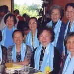 Cô Diệu Lan, Cô Diệu Chước, Cô Như Tuyết, Cô Quỳnh Hoa, Cô Tuyết Anh, Cô Di (Paris, 2003)