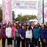 Đi bộ gây quỹ chống Ung Thư Ngực (2014)