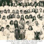 GL 69 11B2 (Cô Dung, Cô Thảo, Cô Nhung, Thầy Bạch)