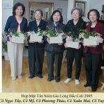 Quý cựu giáo sư tham dự Tân Niên Xuân Ất Dậu (2005)