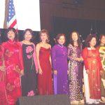 Các Hội Trưởng Hội Gia Long Bắc California - Kim Qui, Mỹ Dung, Phương Thúy, Ánh Ngọc, Hồng Ân, Đào Tơ, Như Hằng, Loan