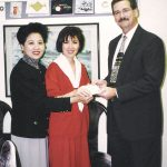 Bảo trợ nạn nhân bão lụt Linda qua American Red Cross (1997)