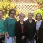 Cô Thu Cúc, Cô Ngọc Túy, Cô Tuyết Mai, Cô Mỹ, Cô Bạch Hạc - Họp mặt Gia Long (2015)