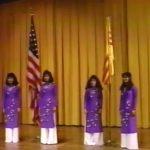 Nghi thức khai mạc - Họp mặt Gia Long Bắc Cali (1992)